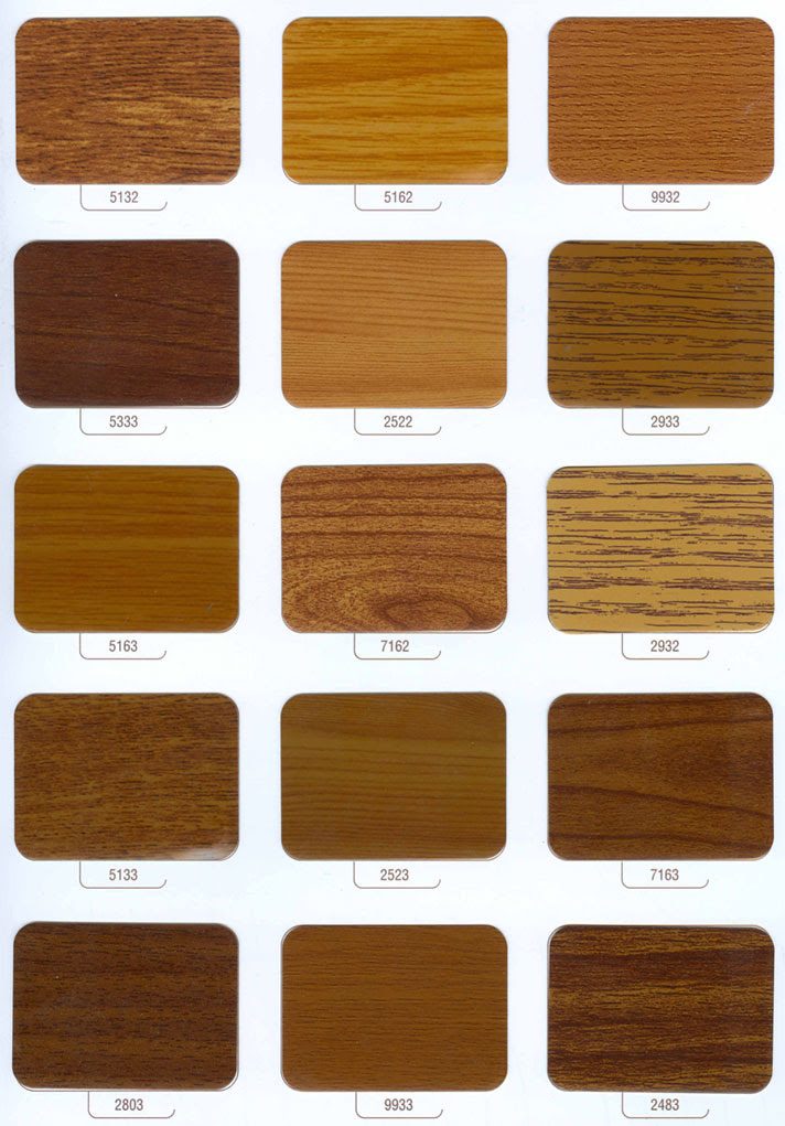 Alüminyum Ahşap Desen Renk Kartelası Alder Alüminyum