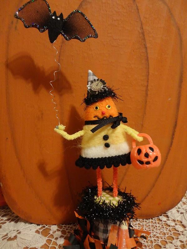 candy corn spoolie