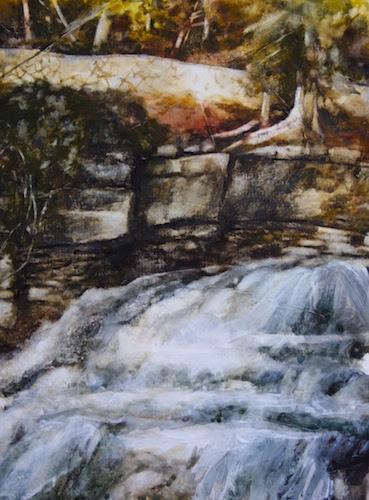 Ingliss Falls, Owen Sound, Ontario. #1 by Vyvyan Green