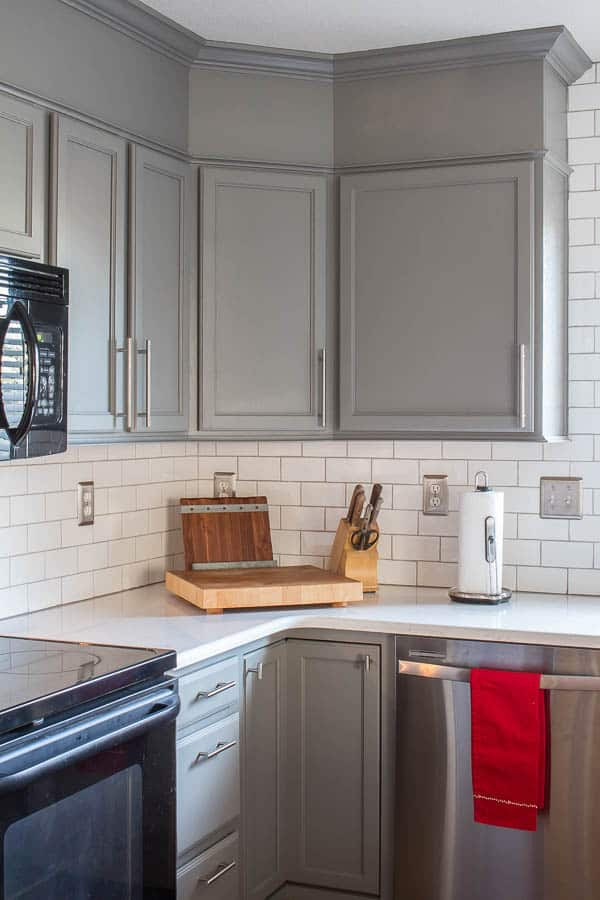 How To Easily Add Height To Your Kitchen Cabinets ...