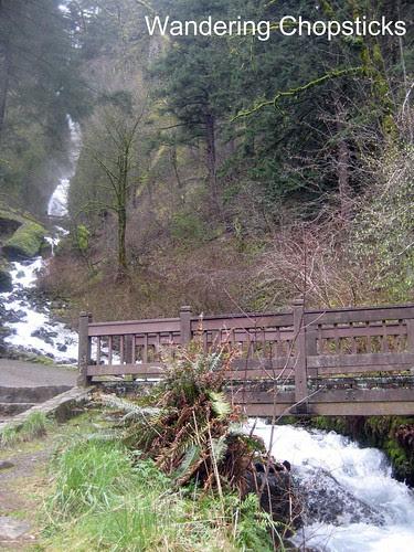 5 Wahkeena Falls (Winter) - Columbia River Gorge - Oregon 1