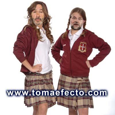 Rajoy y Rubalcaba en la serie Patito feo ^^