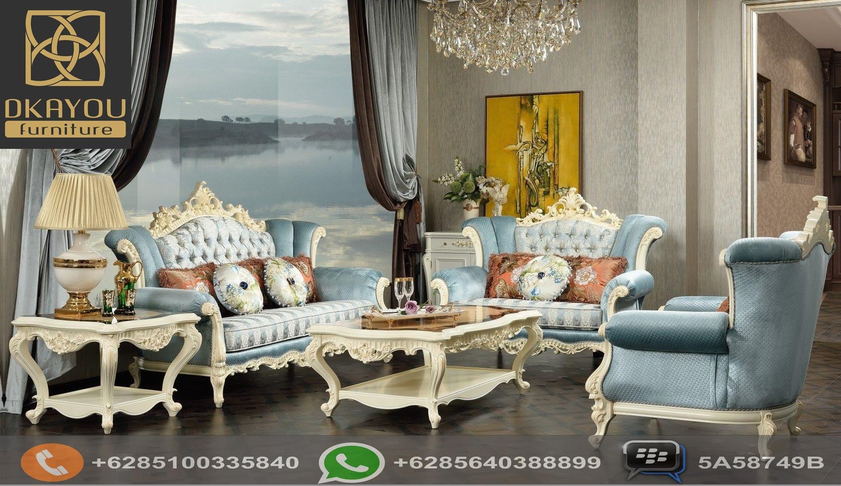 Ruang Tamu Mewah Elegan Denah Rumah