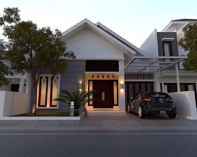 Fasad Rumah Modern Minimalis   Ide Rumah Minimalis