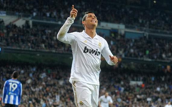 La Liga: Cristiano Ronaldo, Real Madrid CF v Real Sociedad