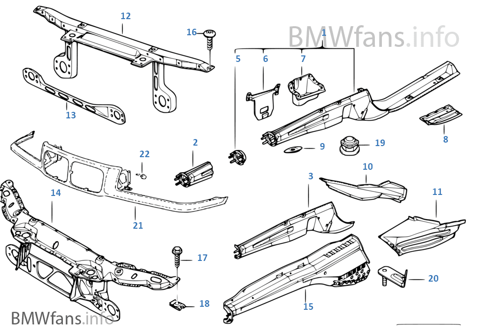 2002 Bmw 325i Parts