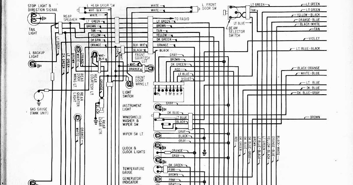 Wiring Diagram 1957 Ford Fairlane 500