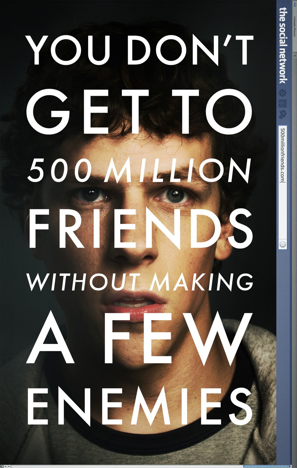Image result for the social network poster