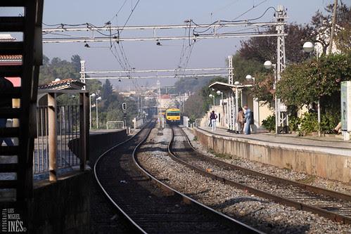 Comboio Amarelo by Luís Miguel Inês | Fotografia