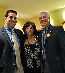 Ben Ray, Carmen and Speaker Lujan