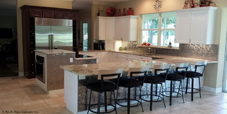 Re A Door Kitchen Cabinets Refacing Free Estimates Tampa
