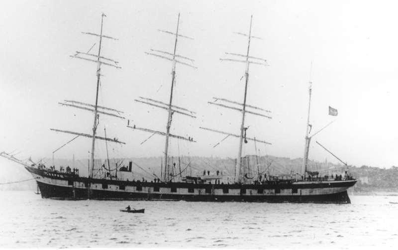model tall ship plans tovarisch russian training schooner