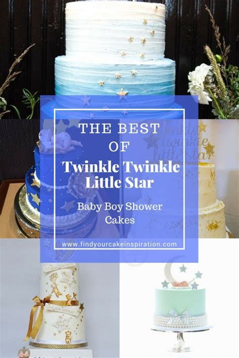 Twinkle Twinkle Little Star Baby Boy Shower Cakes   Find