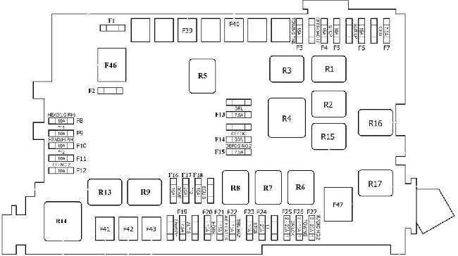 2000 Toyotum Land Cruiser Fuse Box Diagram