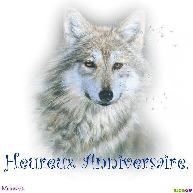 Anniversaire Loup Anniversaire