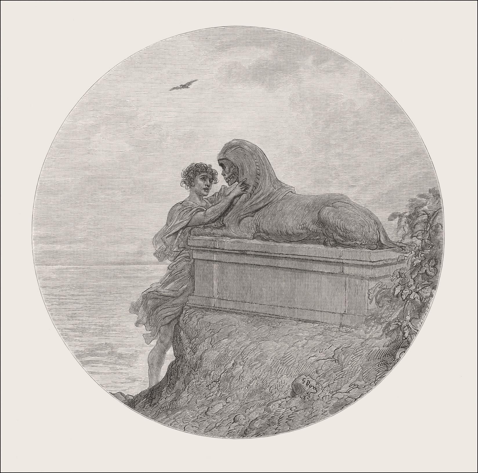 Gustave Doré, The Raven