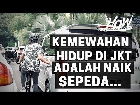 Begini Mudahnya City Biking di Jakarta dengan Sepeda Lipat Brompton