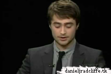 Daniel Radcliffe and Richard Griffiths on the Charlie Rose Show