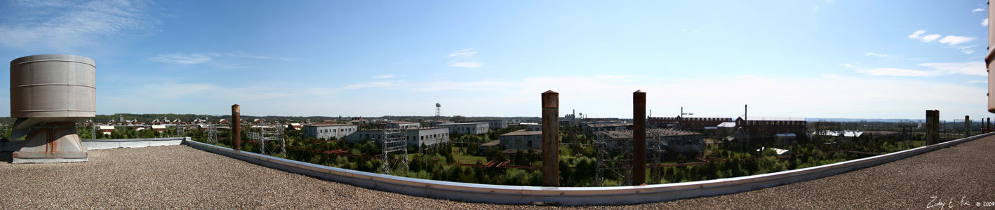 INAAP power plant roof pano