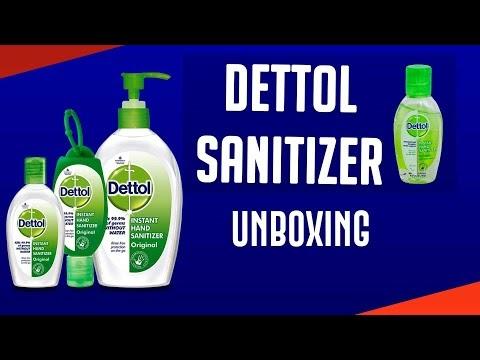 Dettol Hand Sanitizer with Holder