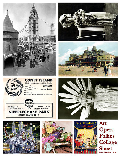 Art Opera Collage Sheet!