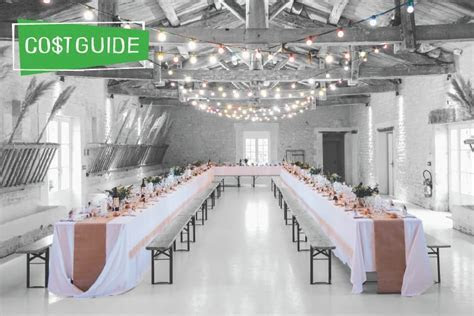 How Much Does A Wedding Venue Cost?   The Plunge