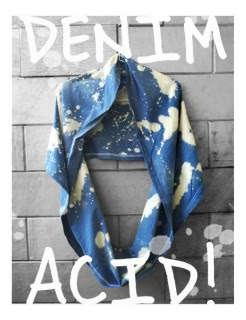denim Acid Cotton Ink!