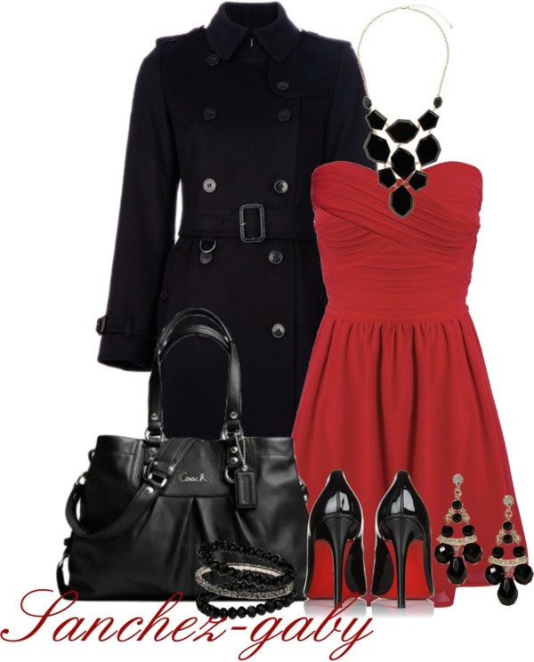 """Holiday Party Dress"" by sanchez-gaby on Polyvore"