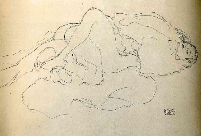 Gustav Klimt erotica sensual31