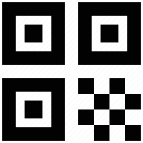 barcode code qr qrcode quick response scan scanner icon