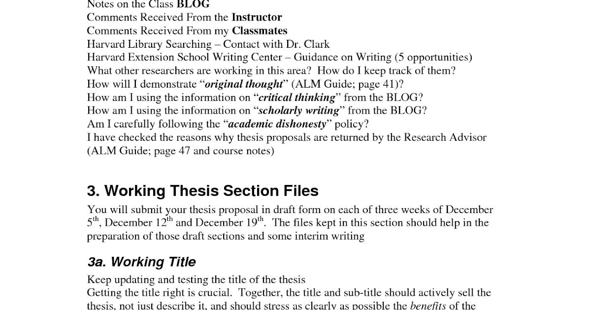 Thesis and dissertation the writing process