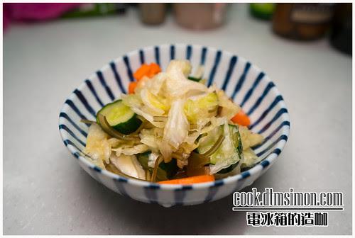 日式蔬菜淺漬