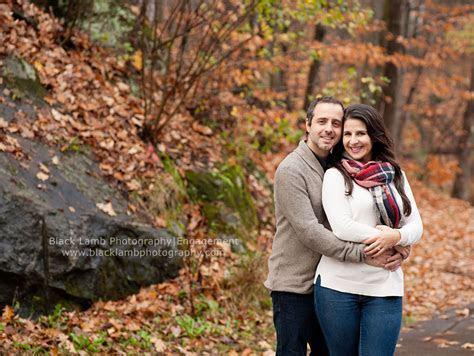 Fall Engagement Photos Gatineau Park QC