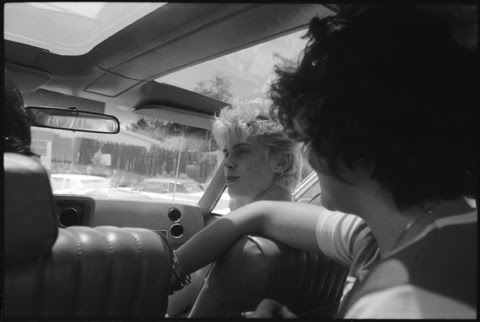 billy idol in the car