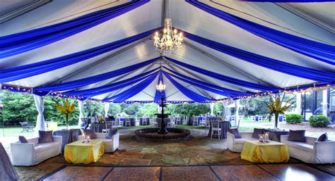 blue tent  legare waring house designed  engaging