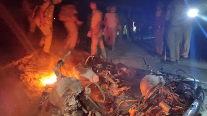 आजमगढ़ में आरोपितों को पकड़ने के लिए छह टीमें गठित, 25-25 हजार का ईनाम घोषित