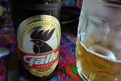 Guatemala - Gallo cerveza