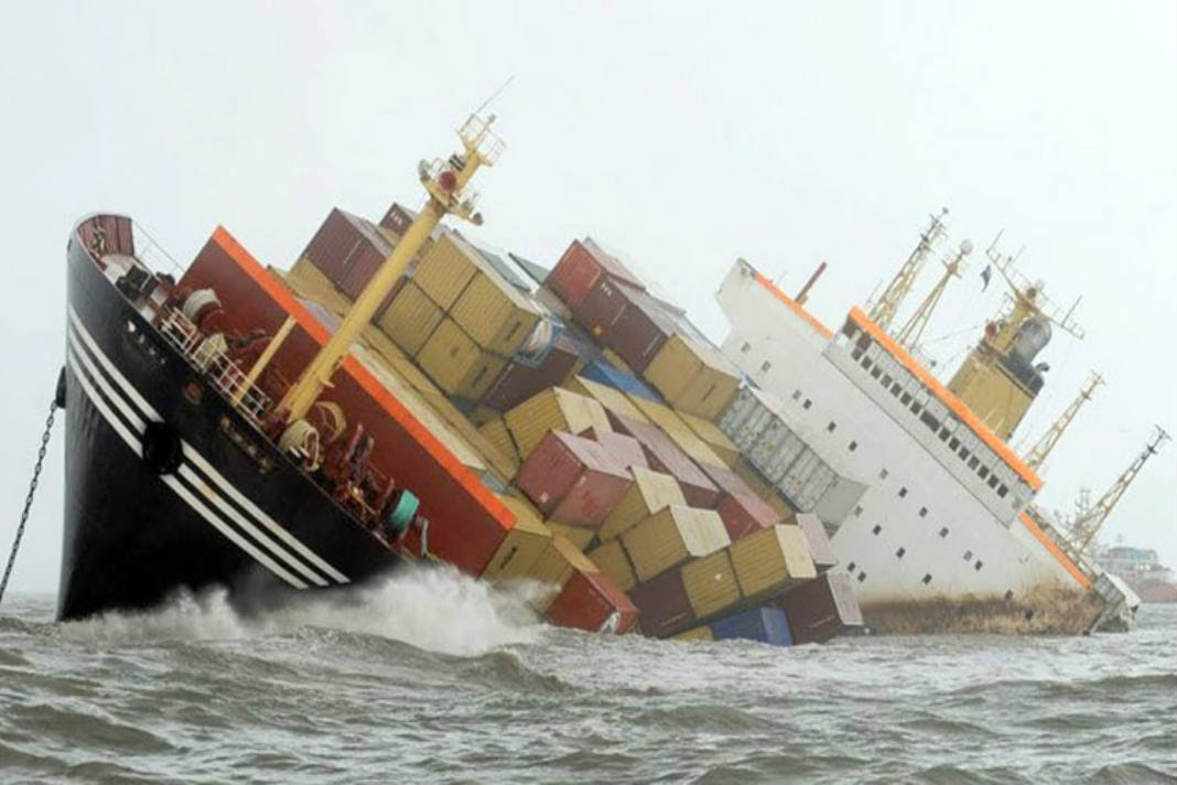 Crew Rescued From Drowning Cargo Vessel Mfame Guru