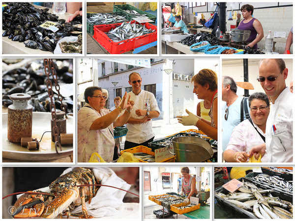 Shopping with the Chef, Seabourn, Split, Croatia, fish market