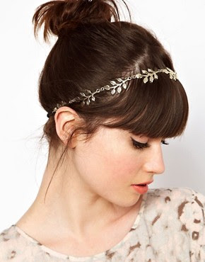 Image 1 of ASOS Grecian Leaf Hairband