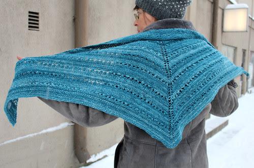 Handspun scarf