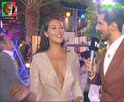 Sofia Ribeiro sensual nas festas de Verão da Tvi