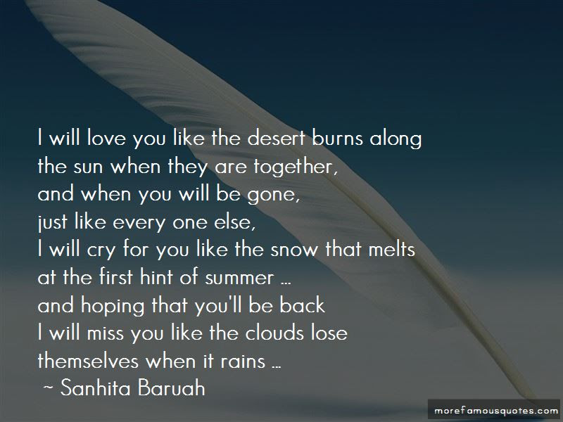 He Will Miss Me When Im Gone Quotes Top 10 Quotes About He Will