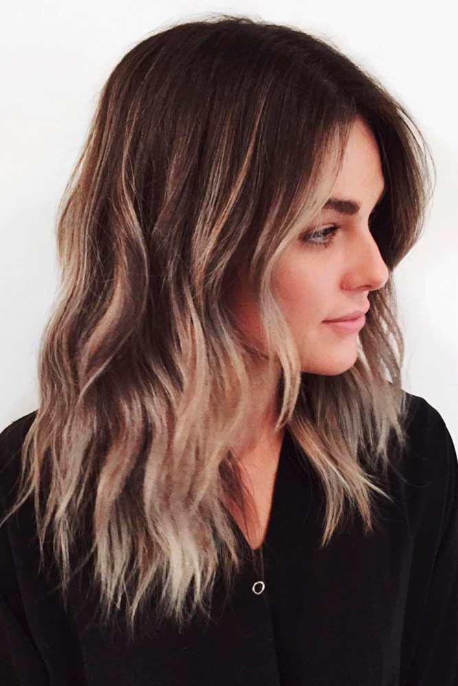 10 Medium Length Hairstyles for Thick Hair in Super Sexy Colors  PoPular Haircuts