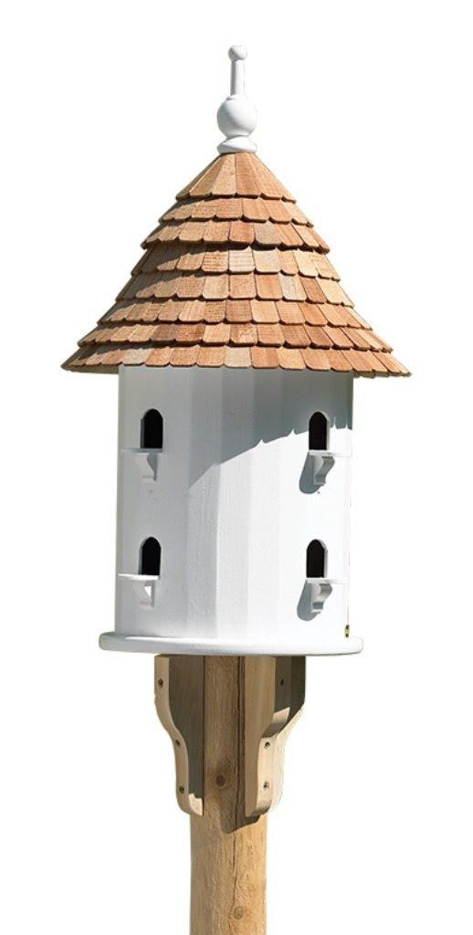 Amazon.com : Lazy Hill Farm Designs 41401 Bird House White Solid ...