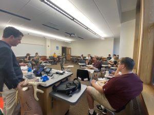 U of Minnesota Gophers dig into new semester at CFACT interest meeting! 1