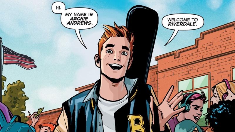 Está aqui seu primeiro olhar para Excepcionalmente Red-Headed Archie do CW