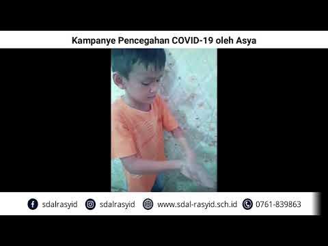 Kampanye Pencegahan COVID 19 oleh Asya