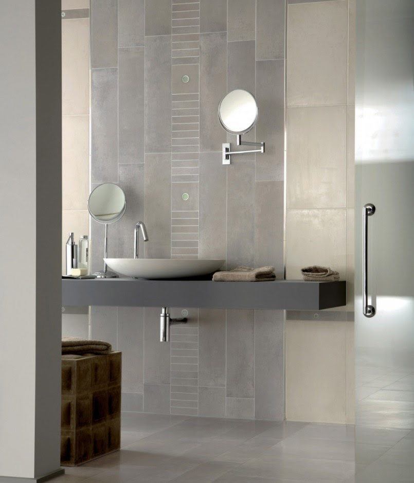 30 ideas on using polished porcelain tile for bathroom floor