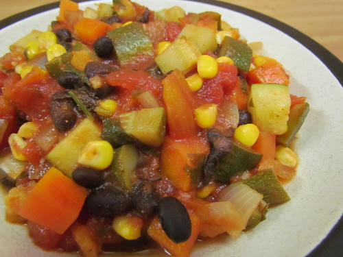Classic Black Bean & Veggie Chili